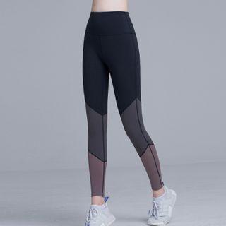 Vortego - Color Panel Yoga Pants