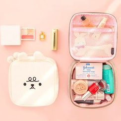 OH.LEELY - Plush Toiletry Bag