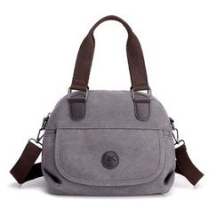 Koln - 帆布拉链手提包