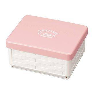 Hakoya - Hakoya Foldable Sandwich Basket (Take Me) (Pink)