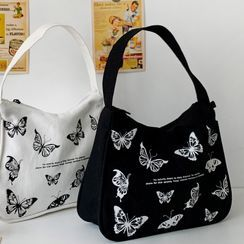 Geolte - Butterfly Print Tote Bag