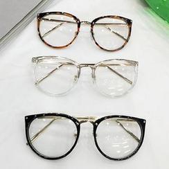 Aisyi - Nicht verschreibungspflichtige Brille mit runden Gläsern