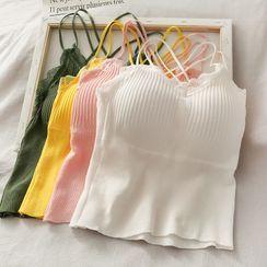 Lemongrass - 针织吊带上衣