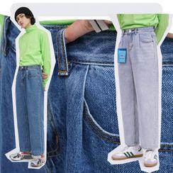 MPstudios - Straight-Cut Jeans