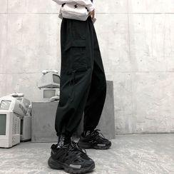 Shineon Studio - 抽绳运动裤