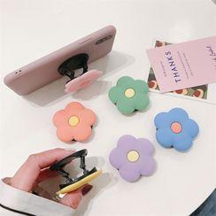 Phone in the Shell - Soporte plegable para teléfono de flores