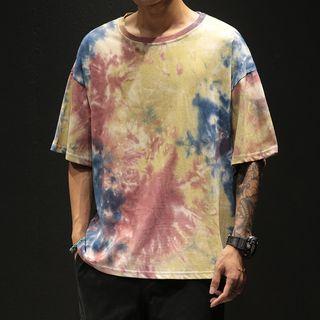 Ferdan - Tie Dye Short-Sleeve T-Shirt