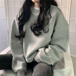Luna Rouge - 长袖纯色卫衣