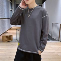 KOKAY - Contrast Trim Pullover