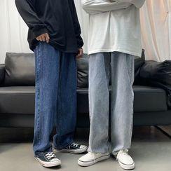 DuckleBeam - Wide-Leg Jeans
