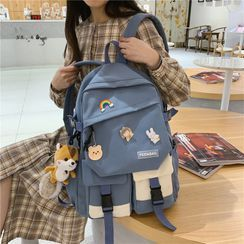 MUSIS - Two-Tone Multi-Section Backpack
