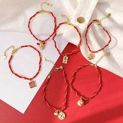 Catalunya - Red String Bracelet (various designs)