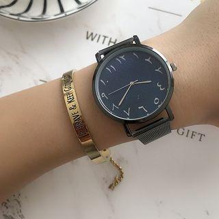 Orario - 阿拉伯數字米蘭手鏈手錶