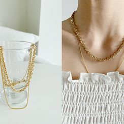 NANING9 - Chain Necklace Set of 2
