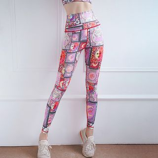 Feelme - All Over Print Sports Leggings