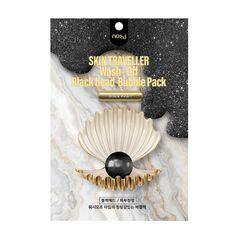 no:hj - Skin Traveller Wash Off Blackhead Bubble Pack