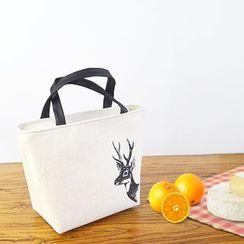 Hyole - Cotton and linen insulation handbag