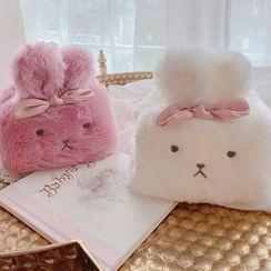 LYZA - Chenille Rabbit Tissue Cover
