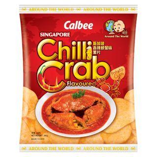 Calbee - Singapore Chilli Crab Flavored Potato Chips 55g