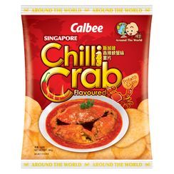 Calbee - Singapore Chilli Crab Flavored Potato Chips 55g
