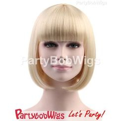Party Wigs - PartyBobWigs - Party Short Bob Wigs - Blonde