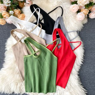 Lucuna - Halter-Neck Tank Top
