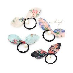 Miss21 Korea - Inset Wire Bow Hair Tie