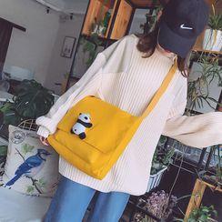 ANEMOI(アネモイ) - Canvas Plush Toy Messenger Bag