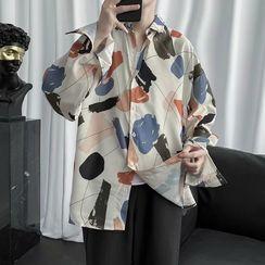 Odin King - Geometric Print Shirt