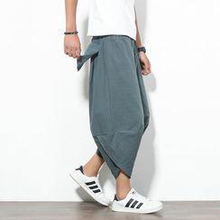 Aozora - Crop Harem Pants