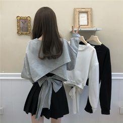 Fabricino - 飾腰帶衛衣