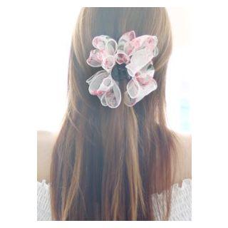 kitsch island - Floral Print Hair Clamp