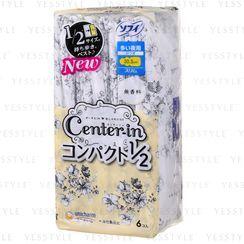 舒蔻 - Center-In Compact Slim Wing Feminine Pads 30.5cm 6 pcs