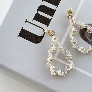 PPGIRL - Beaded Drop Earrings