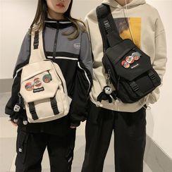 EAVALURE - Nylon Zip Sling Bag