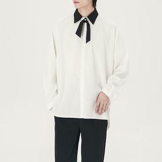 DragonRoad - Contrast Collar Shirt