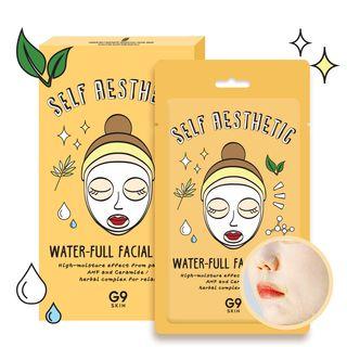 G9SKIN - Self Aesthetic Water-full Facial Mask 5pcs