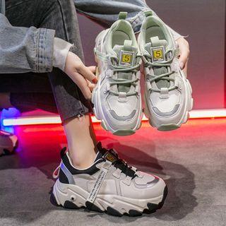 Yuki Yoru - Platform Lace Up Sneakers