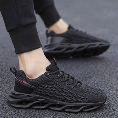 TATALON - Mesh Lace-Up Athletic Sneakers