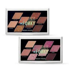 HOLIKA HOLIKA - Chunky Metal Shadow Palette Chunky Funky Collection - 2 Colors
