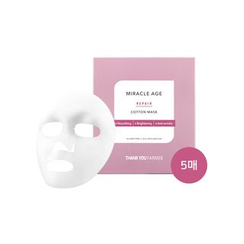 THANK YOU FARMER - Miracle Age Repair Cotton Mask 5pcs