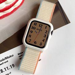 Ibalia - Nylon Apple Watch Strap / Protection Case / Set