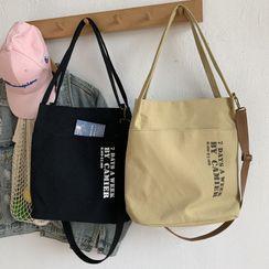 kissogram - Lettering Canvas Tote Bag