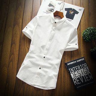 Wild Dragon(ワイルドドラゴン) - Short-Sleeve Slim-Fit Shirt