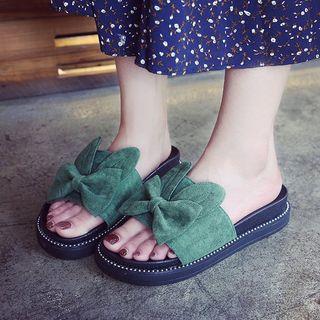 Yoflap - Bow Platform Sandals