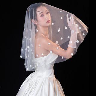Nymphie - 花朵新娘头纱