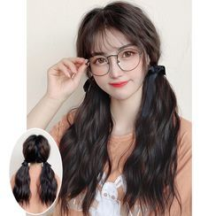 Boo's Home - Set of 2: Ponytail - Wavy