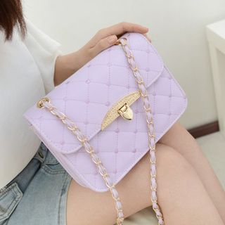 BAGuette - Quilted Chain Strap Shoulder Bag