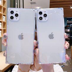 TinyGal - Transparent Phone Case - iPhone 11 Pro Max / 11 Pro / 11 / XS Max / XS / XR / X / 8 / 8 Plus / 7 / 7 Plus / 6s / 6s Plus