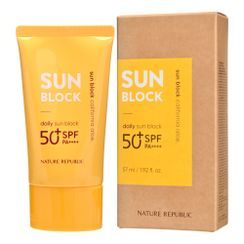 NATURE REPUBLIC - California Aloe Daily Sun Block SPF50+ PA++++ 57ml